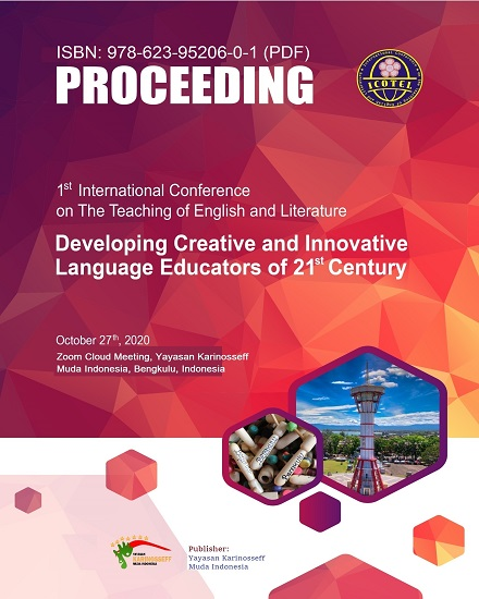 View Vol. 1 No. 1 (2020): International Conference on the Teaching English and Literature